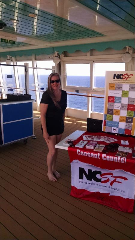 NCSF Table at Couples Cruise